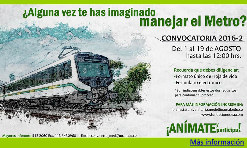 Convocatoria Conductores Metro 2016-2